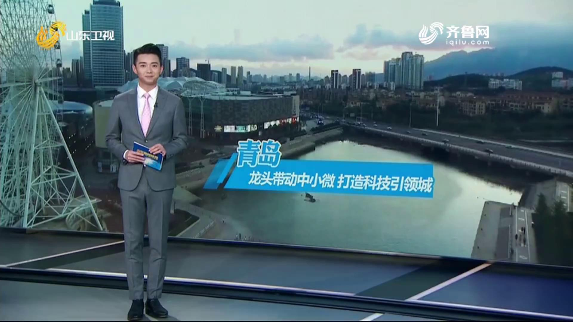 【山东新闻联播】:重点项目巡礼走进青岛 走进beplay手机app